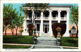 Texas Austin Governor's Mansion 1944 Curteich - Austin