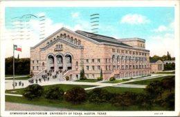 Texas Austin Gymnasium Auditorium University Of Texas 1944 Curteich - Austin
