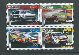 Australia 2012 Bathurst Motor Race Block Of 4 MNH - 2010-... Elizabeth II