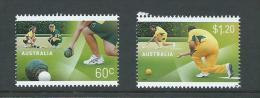 Australia 2012 Lawn Bowls Set Of 2 MNH - 2010-... Elizabeth II