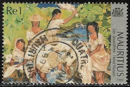 Mauritius SG1001 1999 Mauritius Through Local Artists' Eyes 1r Good/fine Used [28/24561/1D] - Mauritius (1968-...)