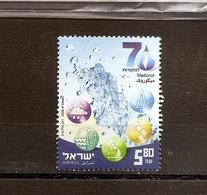 ISRAEL Mekorot 70th Ann.2008  Scott 1716  Fine Used - Israel