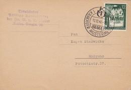 GG: Sonderstempel Krakauer Mustermesse 10.12.40 Auf Postkarte - Occupation 1938-45