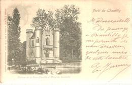 60 - Coye-la-Forêt  - Château De La Reine Blanche Et étang De Commelle - Frankrijk