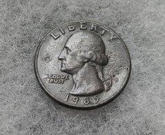 USA Quarter Dollar 1985 , Error , Fake ? - 1932-1998: Washington