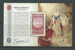 Australia 2010 Empire Colonial Heritage Miniature Sheet MNH - 2010-... Elizabeth II