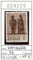 Katanga - Michel 56 - Oo Oblit. Used Gebruikt - Katanga