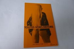 BELLE CARTE....BELLE FEMME TOUTES VOIES DEHORS ...JP ROSTENNE 79 - Nus Adultes (< 1960)