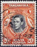 Kenya-Uganda-Tanganyika 1942 - Mi 60D - YT 54b ( King George VI ) Perf. 13¼ X 13¾ - Kenya, Ouganda & Tanganyika