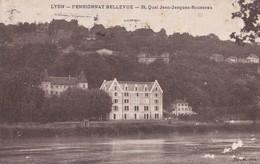 LYON                                  Pensionnat Bellevue                         Timbree - Lyon