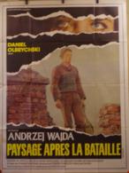 Af Orig Ciné PAYSAGE APRES LA BATAILLE (ANDRZEJ WAJDA/1970) 120X160 - Affiches & Posters