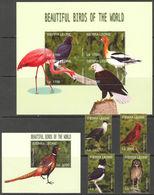 Sierra Leone 2004 Birds Fauna Set+klb+s/s MNH - Sonstige