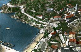 CP-Algérie- Collo-vue Sur Le Port Et L'église ( écrite En 1962) - Algérie