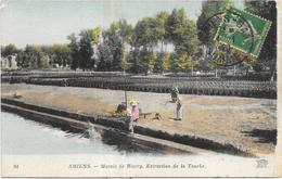 AMIENS: MARAIS DE RIVERY EXTRACTION DE LA TOURBE - Amiens