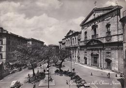 ROMA - PIAZZA DELLA CHIESA NUOVA - AUTO - 1954 - Places & Squares