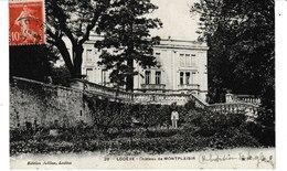 Hérault LODEVE  Château De MONTPLAISIR (homme Au Premier Plan) - Lodeve