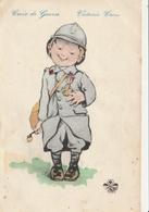 MILITARIA  Patriotiques - ENFANTS - Illustrateur - Croix De Guerre - Patriotiques