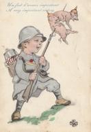 MILITARIA  Patriotiques - ENFANTS - Illustrateur - Un Fait D'armes Important - Patriotiques