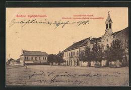 AK Gyulafehervarrol, Hunyadi-teri Reszlet, Kirche - Rumania