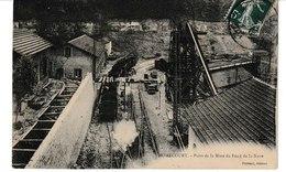 Meurthe Et Moselle HOMECOURT Puits De La Mine Du Fond De La Noue (train) - Homecourt