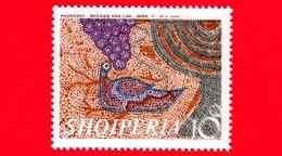 Nuovo - MNH - ALBANIA - Shqiperia  - 1970 - Mosaici Del 5°- 6° Secolo Rinvenuti Vicino Pogradec - Uccelli Acquatici E Uv - Albania