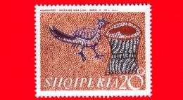 Nuovo - MNH - ALBANIA - Shqiperia  - 1970 - Mosaici Del 5°- 6° Secolo Rinvenuti Vicino Pogradec - Uccelli E Ceppo Di Alb - Albania