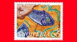 Nuovo - MNH - ALBANIA - Shqiperia - 1970 - Mosaici Del 5°- 6° Secolo Rinvenuti Vicino Pogradec - Pesci - 65 - Albania
