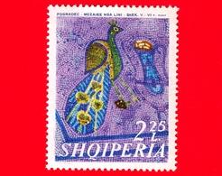 Nuovo - MNH - ALBANIA - Shqiperia - 1970 - Mosaici Del 5°- 6° Secolo Rinvenuti Vicino Pogradec - Pavone - 2.25 - Albania