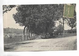 54 - CREPEY ( M.-et-M. ) - Entrée Du Village - Francia