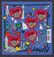 N° 4432A Bloc Feuillet Saint Valentin Coeur 2010 Lanvin. Feuillet  Neuf Impeccable Non Plié - Ungebraucht