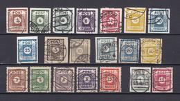 Ost-Sachsen - 1945/46 - Sammlung - Gest. - 67 Euro - Sowjetische Zone (SBZ)