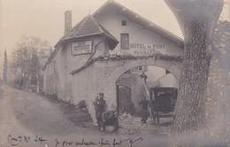 """La Roche Des Arnauds : Hotel Du Pont Bonnardel/Cafe Auguste Para/""""La Bonne Auberge"""" - Autres Communes"""