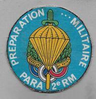 Ecusson  Préparation Militaire PARA 2 E RM - Patches