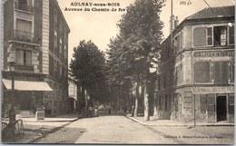 93 AULNAY SOUS BOIS - L'avenue Du Chemin De Fer. - Aulnay Sous Bois