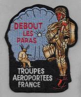 Ecusson Troupes Aéroportées France - Ecussons Tissu