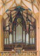 Annaberg-Buchholz (Saxe - Allemagne) St-Annen-Kirche - Grand Orgue - Eglises Et Cathédrales