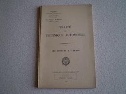 Militaria,Etat Major 3° Bureau Défense Nationale,traité De Technique Automobile 7, Les Moteurs à 2 Temps - Libros