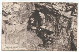 PERCEMENT DU TUNNEL DU MONT D'OR RENCONTRE DES DEUX EQUIPES 2 OCTOBRE 1913 - VD Waadt
