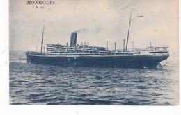 BATEAU PAQUEBOT MONGOLIA - Paquebote