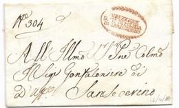 DA SANSEVERINO PER CITTA' - 18.4.1818. - Italia