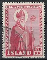 Iceland Island 1950. Mi 271, Used - Usati