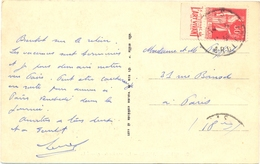 PUB LE JOURNAL DE L'ELITE L'ART VIVANT LE N° 10 Fr. TYPE PAIX 50 C. - TàD PRIVAS ARDECHE De 1934 - Poststempel (Briefe)