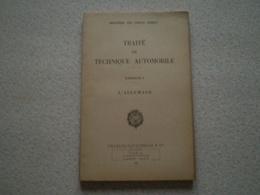 Militaria,Forces Armées,traité De Technique Automobile 5, L'allumage. 1953 - Francese