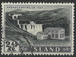 Iceland Island 1956. Mi 308, Used O - Usati