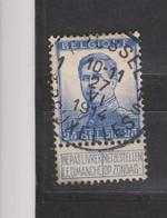 COB 125 Oblitération Centrale BRUXELLES 1S - 1912 Pellens