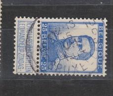 COB 125 Oblitération Centrale BRUXELLES 10D - 1912 Pellens