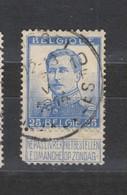 COB 125 Oblitération Centrale BRUXELLES 10F - 1912 Pellens