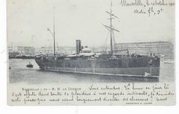 BATEAU PAQUEBOT LE DOUROS(MARSEILLE) - Dampfer
