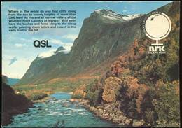 Carte QSL Radio Norway 1984 - Radio
