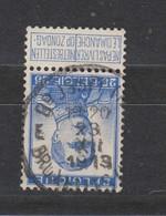 COB 125 Oblitération Centrale BRUXELLES (Nd) E - 1912 Pellens